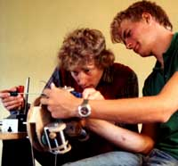 Uffe Edslev og Henning Forbech